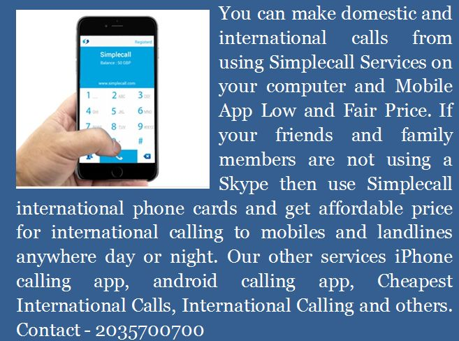 Simplecall Presents Making Low Cost International Calls #international calling plans #cheap international calls