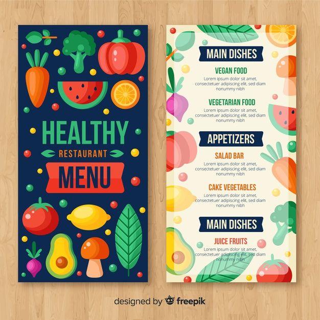 Download Flat Colorful Organic Menu Template For Free Menu Template Cafe Menu Design Menu Design Template