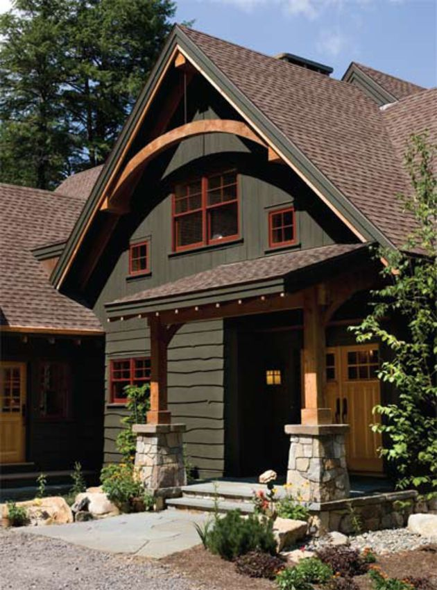 16 best images about roof on pinterest house plans for Craftsman exterior color schemes