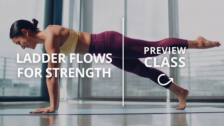 30 min Strength Flow: Power Vinyasa Yoga Class with Briohny Smyth
