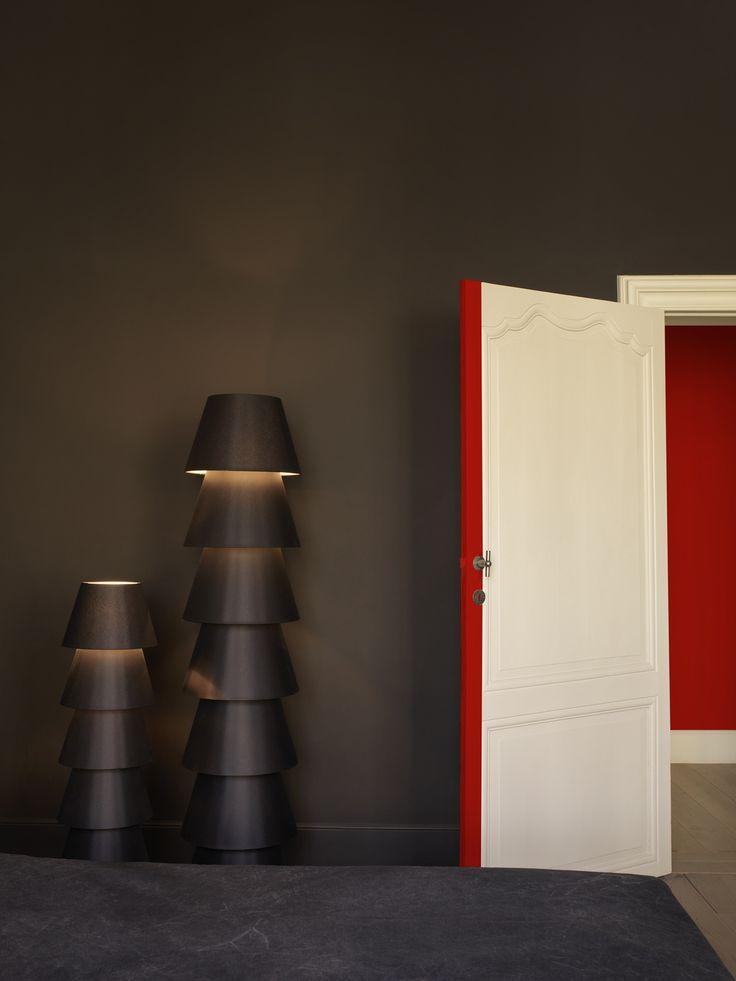 Flexa pure muurverf in de intense kleur cacao kleur in for Interieur kleur