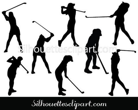 10 best Sports Silhouette Vector images on Pinterest