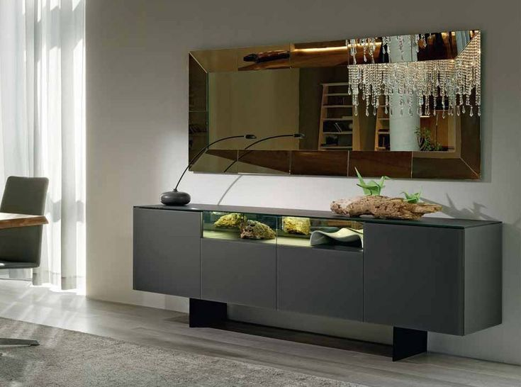 Continental Italian Low Sideboard by Cattelan Italia - $4,295.00