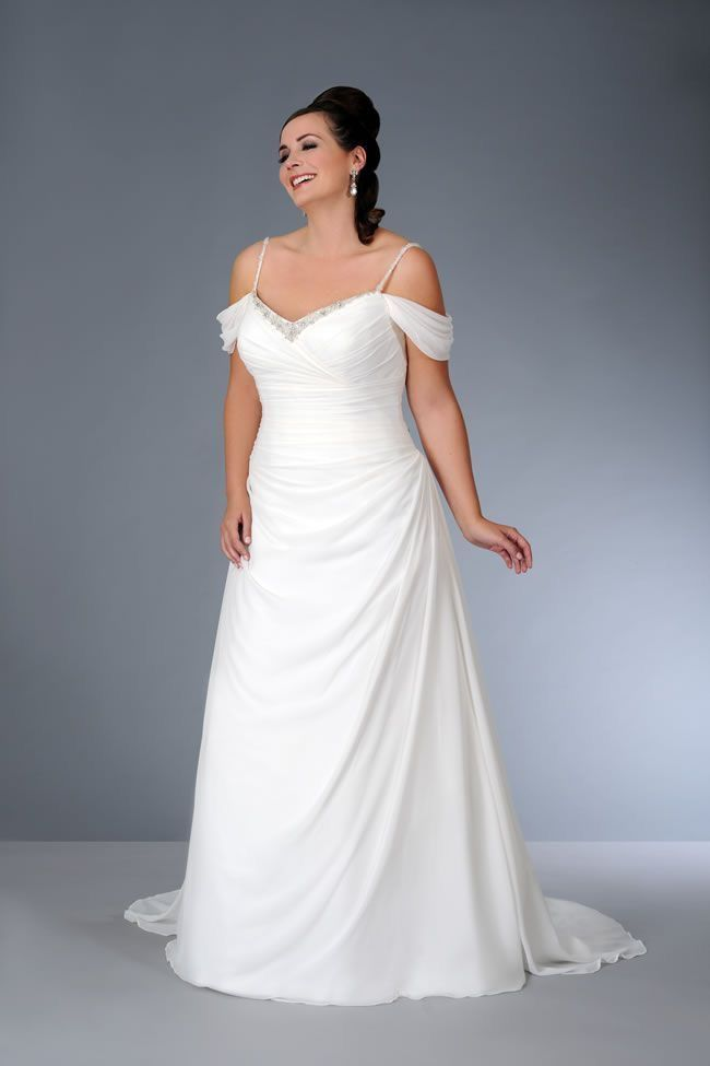 90 best WEDDING DRESSES PLUS SIZE images on Pinterest