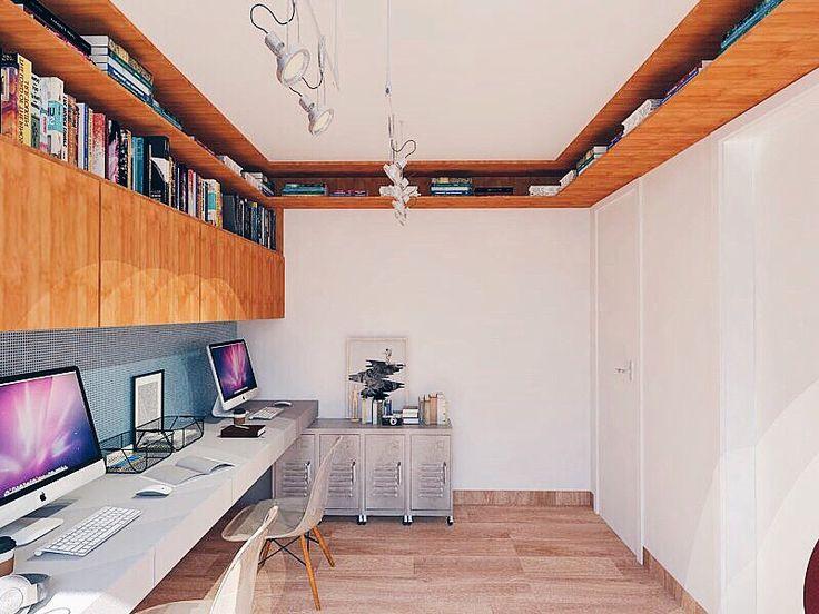 O projeto nosso home office / estúdio  de música / oficina de produção / estúdio fotográfico e de vídeo / quarto de hóspedes é simplesmente tudo o que a gente poderia querer (e um pouco mais). Quero ver essa bagunça funcionando aí dentro!