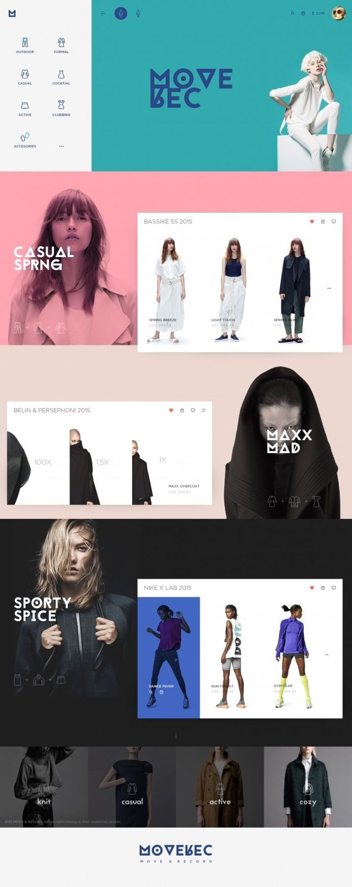 Moverec by Cosmin Capitanu in Web design
