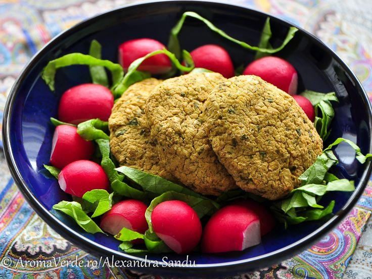 Falafel cu salata verde_