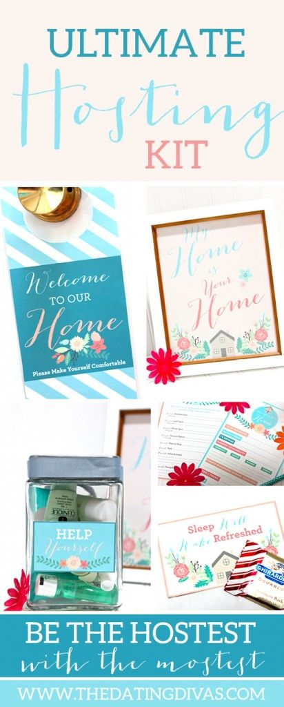 Ultimate Hosting Kit. House Guest GiftsGuest ...