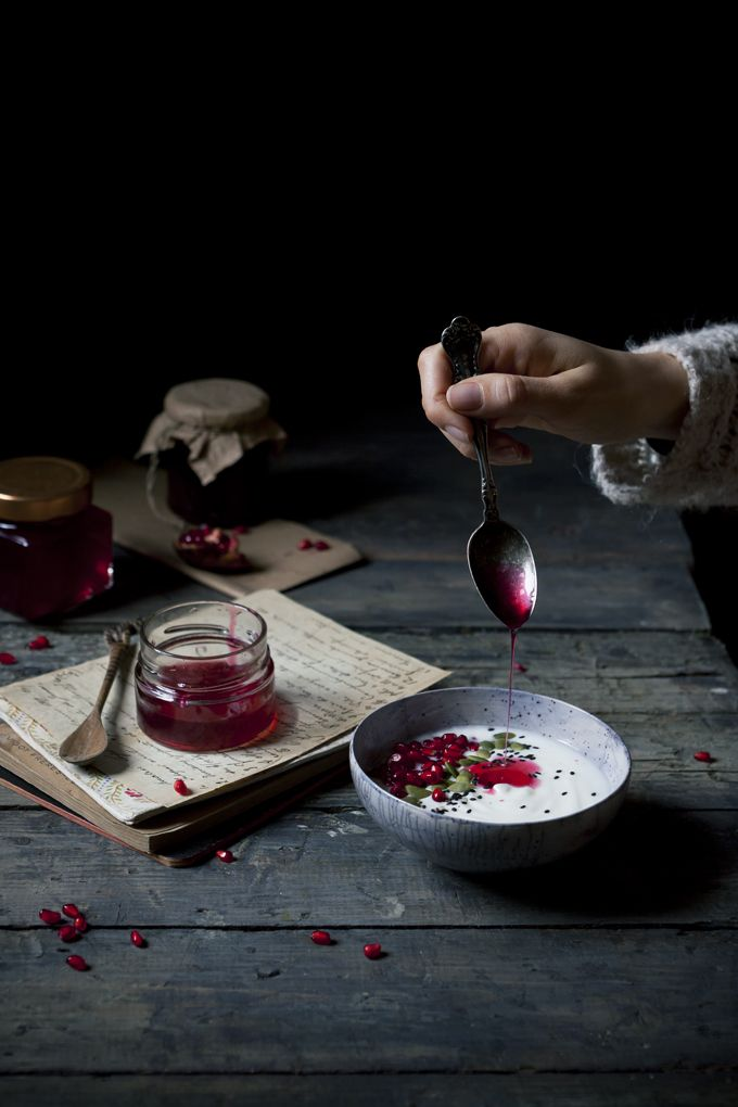 Dorina's Ruby Red Potion | Pomegranate Syrup - The Freaky Table