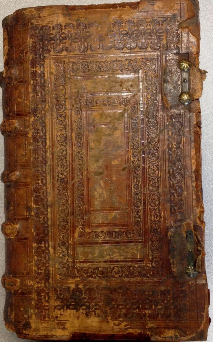 Corpus juris civilis (1612) back cover