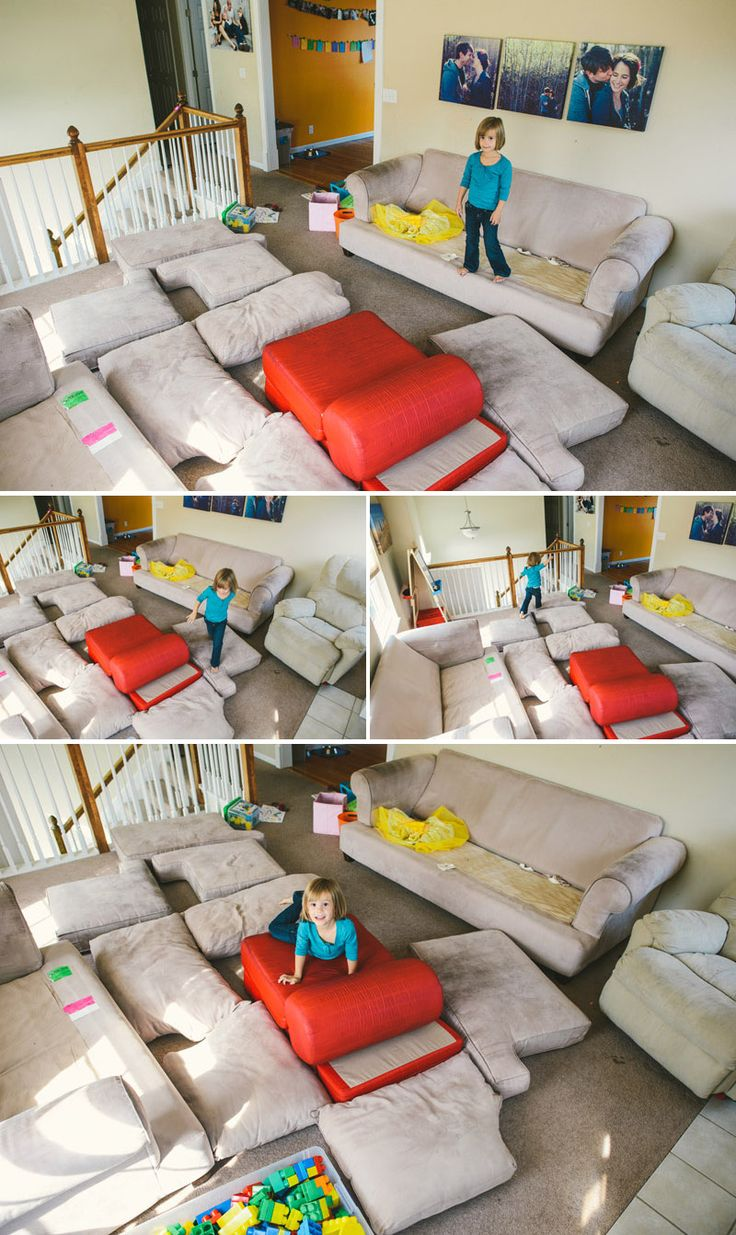 make your own indoor bounce house
