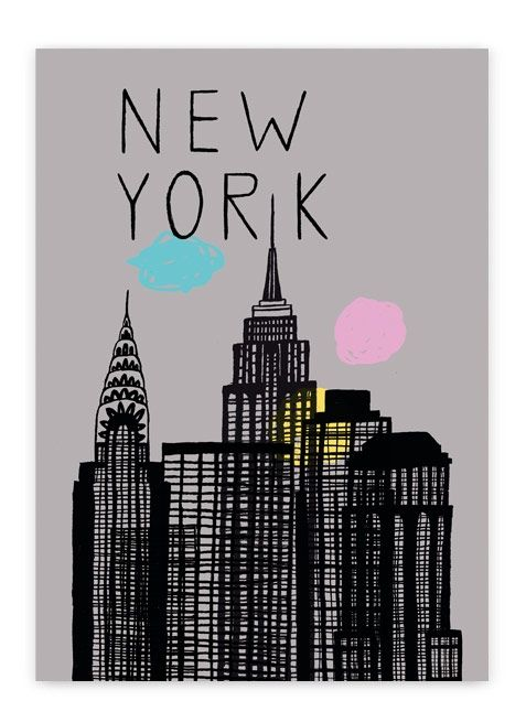 New York Poster / Human Empire (tell me when you get bored by these ny / paris posters, i try to stop it coz we've got enough but dammmmmmmmmn they keep coming !)