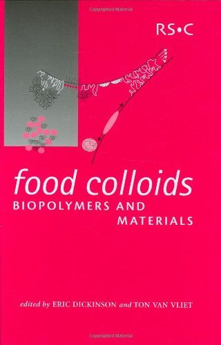 Food Colloids, Biopolymers and Materials by Eric Dickinson English | 24 Nov. 2003 | ISBN: 0854048715 | 428 Pages | PDF | 37 MB