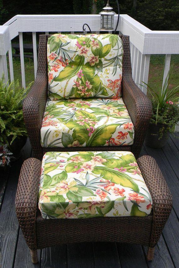Seat Back U0026 Ottoman Cushions For Deep By PillowsCushionsOhMy, $199.92