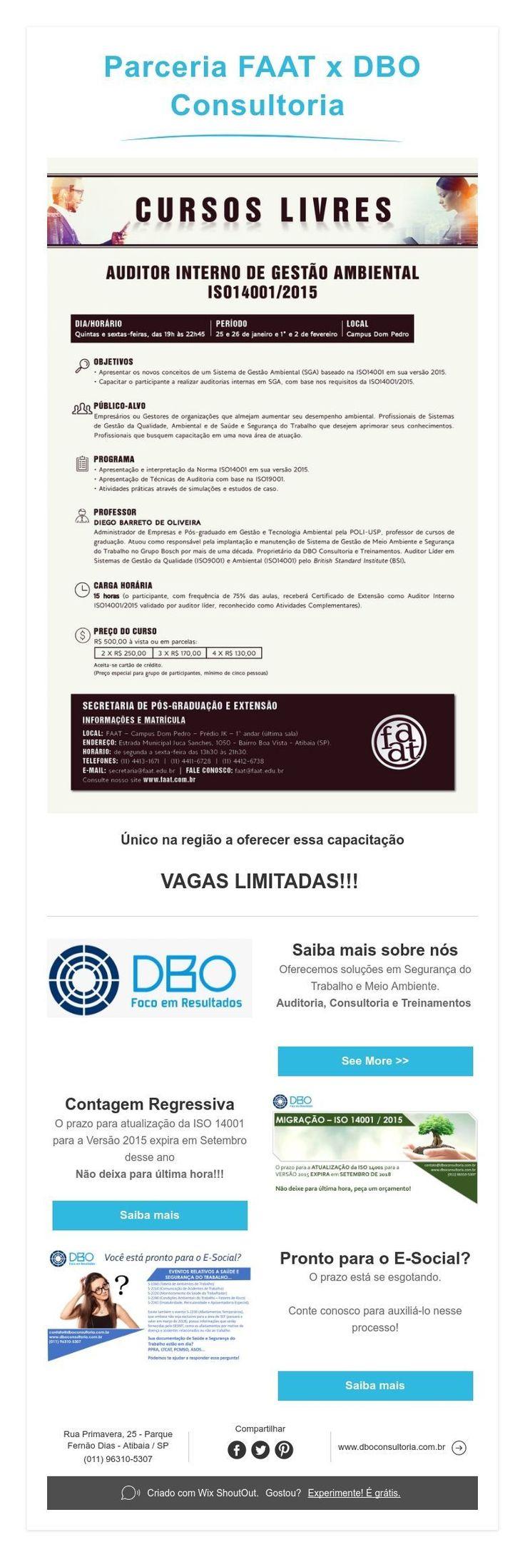 ParceriaFAAT x DBO Consultoria
