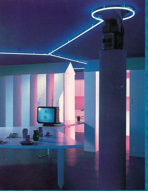 Neon Sur Pieds Decoration Chambre
