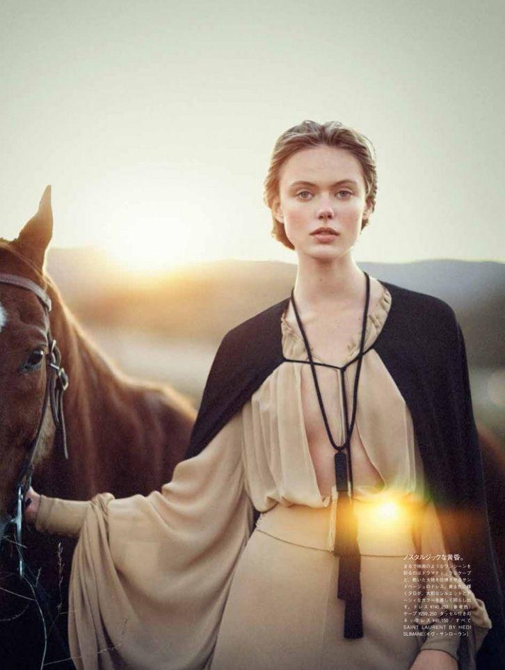 [Fashion Editorial] La cavalière mormonne de Vogue Japan