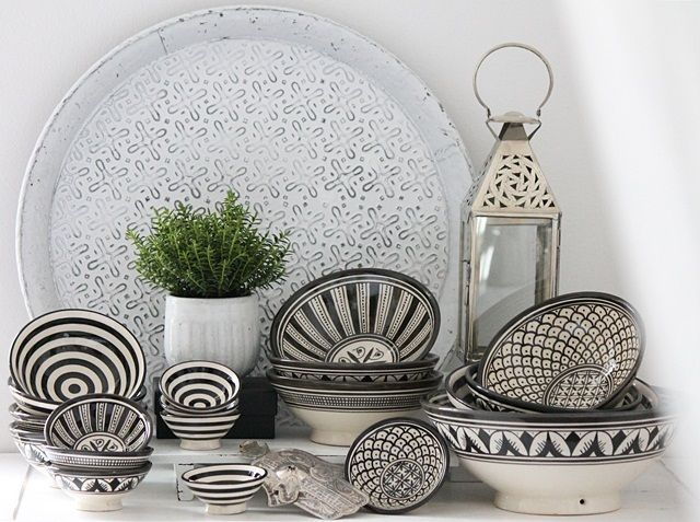 Keramikschalen gemustert - H O U S E of I D E A S