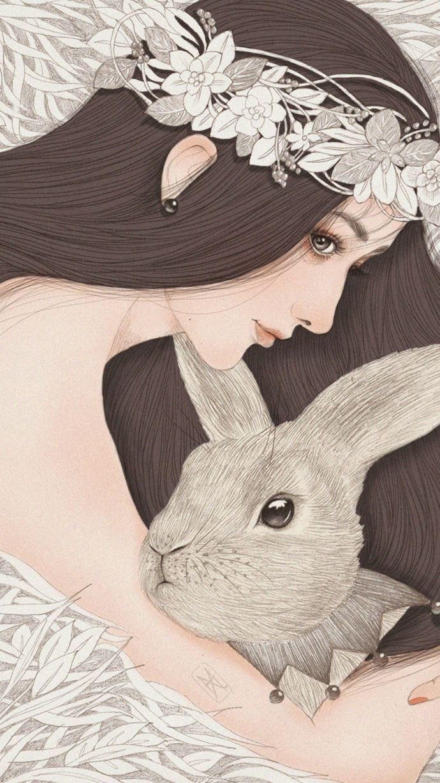 Pin by Jason trinh on thuy Girly art, Anime art girl