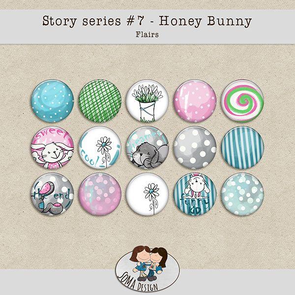 SoMa Design: Honey Bunny Flairs