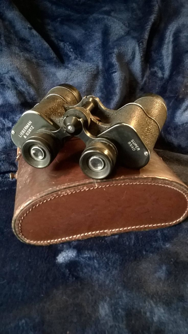 Vintage Binoculars, 1950s, Lieberman & Gortz, Eyeglass, Militaria, Field Glasses, Collectable, Memorabilia,Gifts for Him, Display, Steampunk by TillyofBloomsbury on Etsy