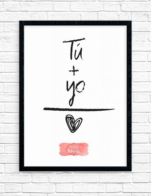 Inspiración para tu boda en El Blog de una Novia | #novios #amor