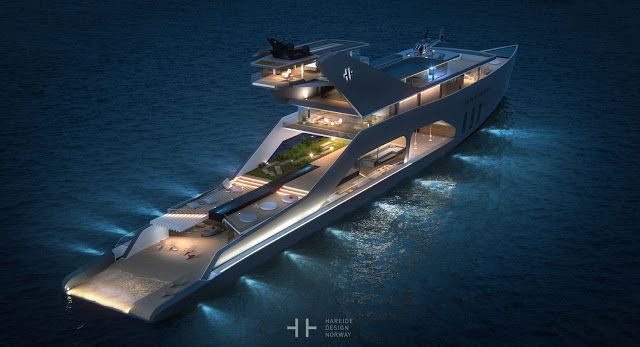 Lily Of The City:  Lily Of The City opulence yachtingBy night - 108M...