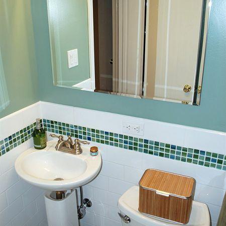 38 best green bathrooms images on pinterest for Dark green bathroom accessories