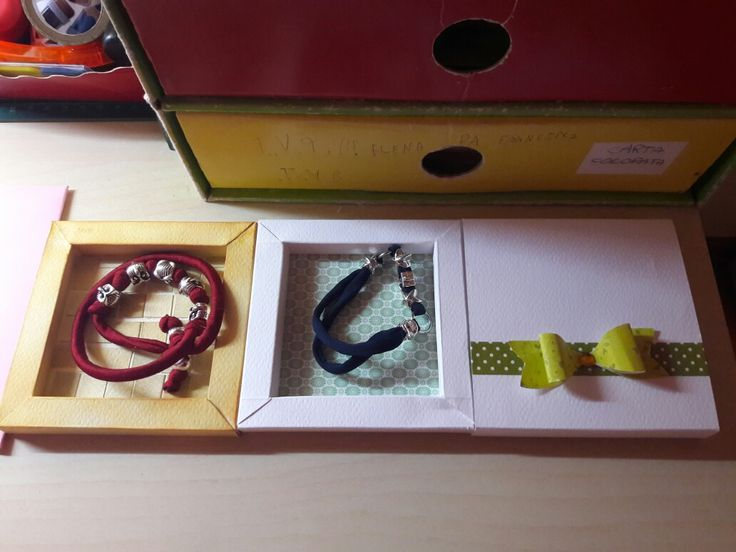 Shadow box for bracelet