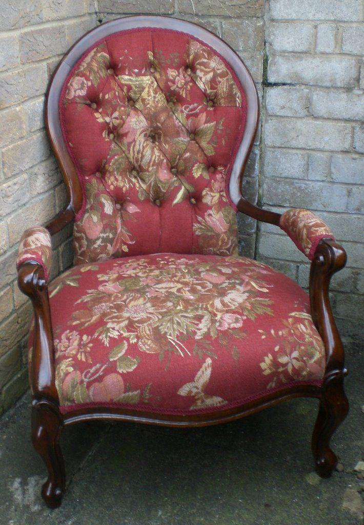 Victorian ladies parlour chair