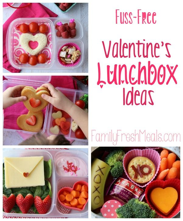 In the spirit of Valentine's Day, here are some super sweet lunchbox ideas. It's time to share the love #lunchboxideas