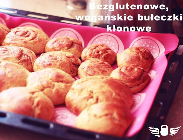 Siebie Wykuj!: Bezglutenowe, wegańskie bułeczki klonowe