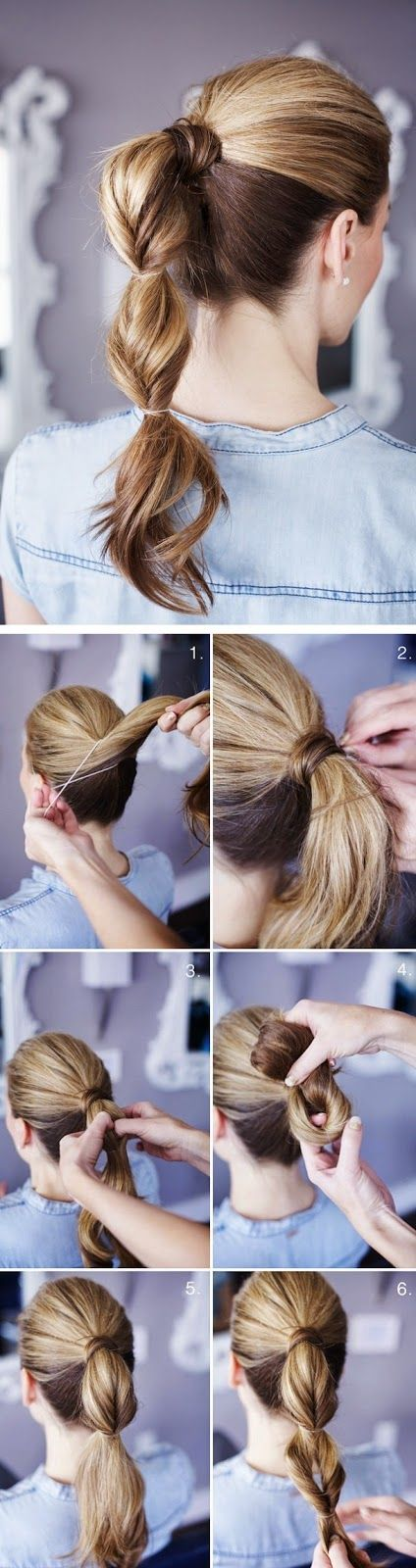 Pretty Simple : Grown - Up Topsy Tail