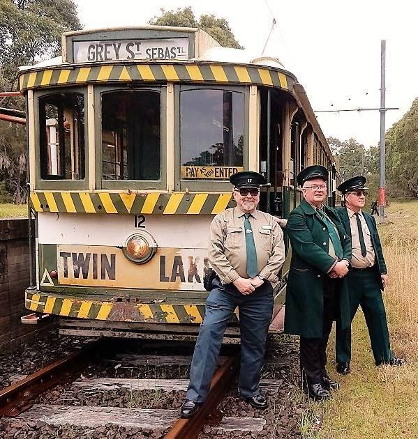 Ballarat No. 12 back in service at Sydney Tramway Museum