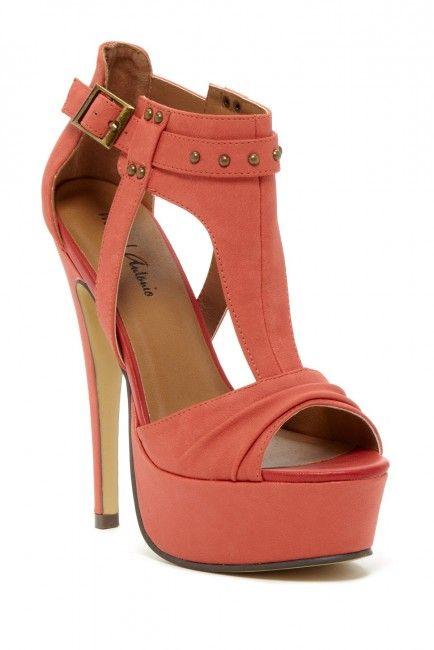 Tackett Platform Heel Super pretty, but I wouldn't wear them.