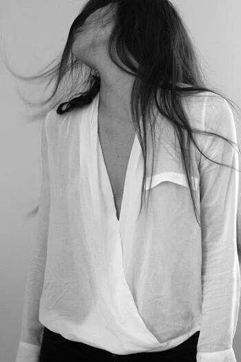 Blusa de seda.