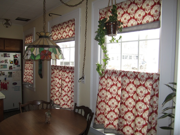 12 Best Dining Room Cafe Curtains Images On Pinterest  Cafe Stunning Dining Room Valances Design Decoration