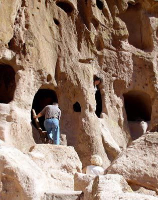 Things to Do in Santa Fe: Climb into an Ancient Cliff Dwelling
