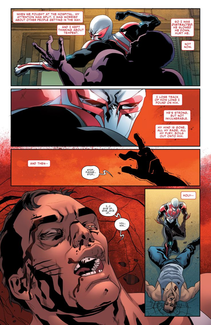 Bacakomik   Baca komik Spider Man 2099 Chapter 009