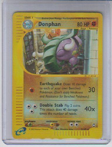 Donphan Reverse Holo Rare Pokemon #7