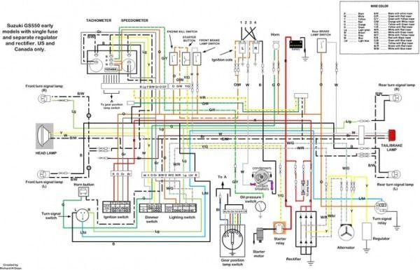 suzuki gs 550 wiring diagram  filter wiring diagrams change