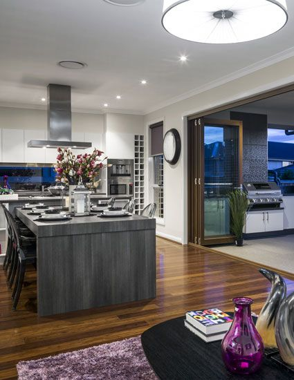 Dining room of The Glenleigh 39.5 Home design display home by Kurmond Homes New Home Builders Sydney NSW - HOMEWORLD 5, Hartigan Avenue (off Windsor Road), Kellyville, NOW OPEN - 7 DAYS