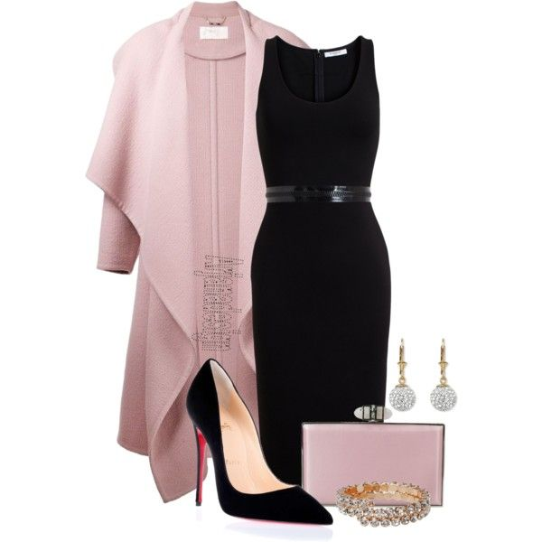 A fashion look from December 2014 featuring Givenchy dresses, Chloé coats and Christian Louboutin pumps. Browse and shop related looks.