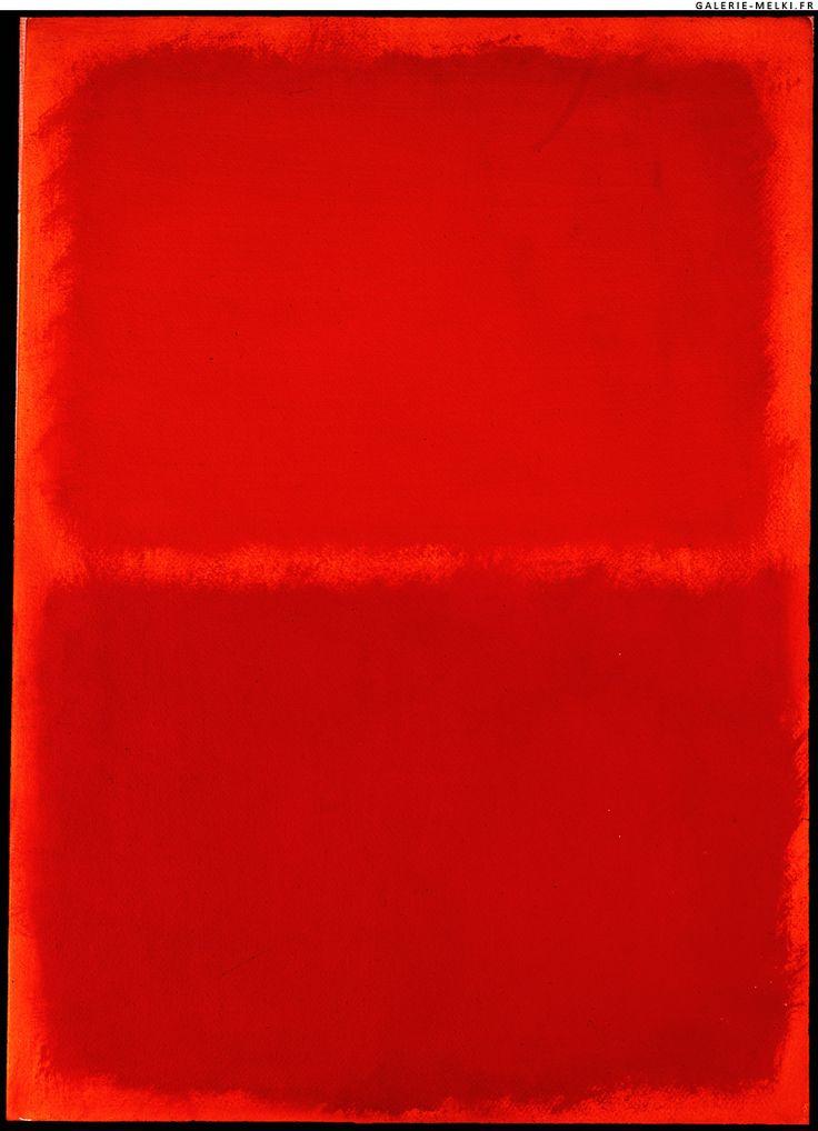 Orange, Red, Orange by Mark Rothko.