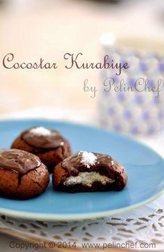 PelinChef: Coconut Chocolate Cookie COCOSTAR KURABİYE