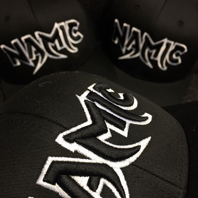 Raised Black Iconic Mesh Trucker   www.namic.co.uk #namic #clothing