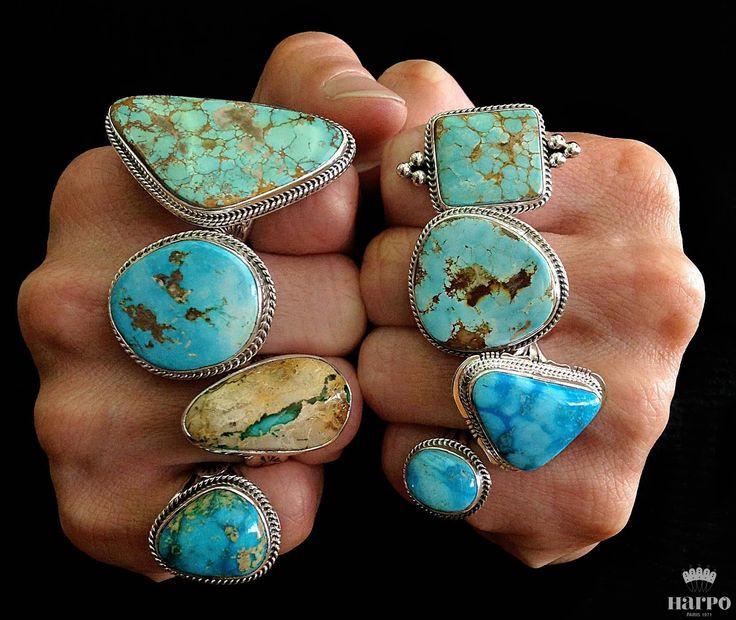 Harpo Bijoux © #nativeamerican #turquoise #jewelry