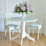 Linked to: www.interiorfrugalista.com/2016/06/pedestal-doily-dining-table.html