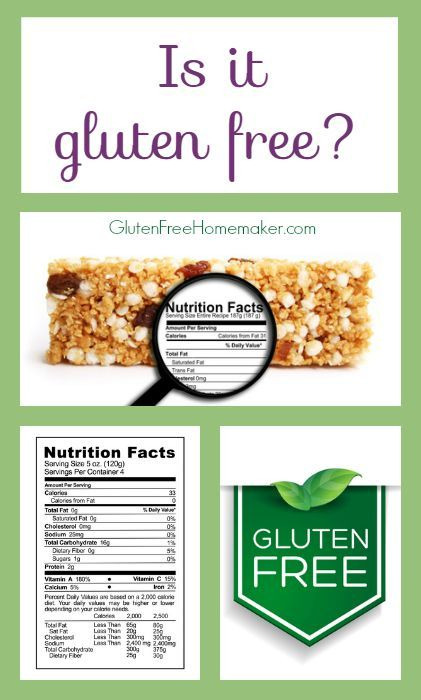 "Do you ever wonder, ""Is it Gluten Free?"" Here is a table listing food items that people commonly ask about and whether or not they are gluten free. At Gluten-Free Homemaker"