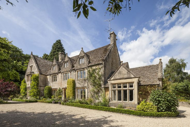 """Built on just under two acres, this Grade II-listed former rectory has been done up by current owner, James Holder, who is the co-founder of British clothing brand Superdry. Mr. Holder says he was looking for """"a cool but not overly designed style—like we do with clothing."""" While it has modern features, Mr. Holder says he """"respected the heritage of the house, working with the foundations while adding contemporary, high-quality finishes."""""""